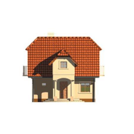 Proiecte Case - Proiect Casă Mică, cu Mansardă, 141 mp, 3 Camere, 1 Băi, ID 6765