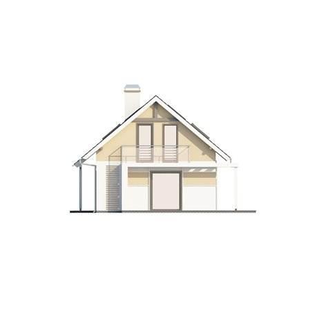 Proiecte Case - Proiect Casă Mică, cu Mansardă, 136 mp, 5 Camere, 2 Băi, ID 282