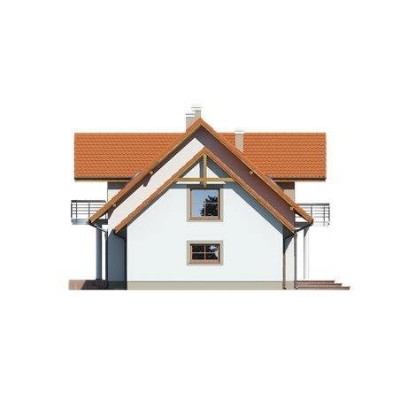 Proiecte Case - Proiect Casă de Vis, cu Mansardă, 181 mp, 6 Camere, 2 Băi, ID 6755