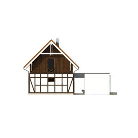 Proiecte Case - Proiect Casă Mică, cu Mansardă, 142 mp, 4 Camere, 2 Băi, ID 186