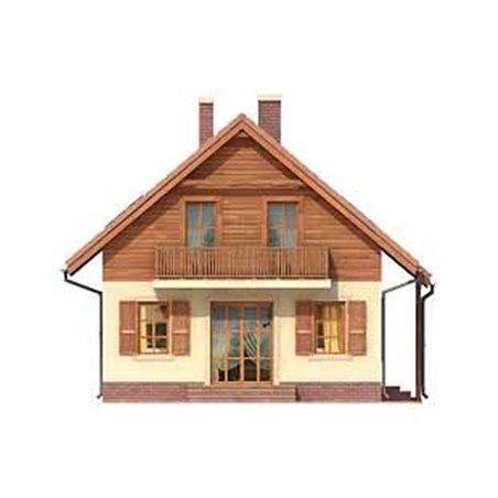 Proiecte Case - Proiect Casă Mică, cu Mansardă, 142 mp, 4 Camere, 2 Băi, ID 75