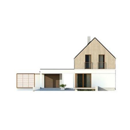 Proiecte Case - Proiect Casă Mică, cu Mansardă, 143 mp, 4 Camere, 2 Băi, ID 73