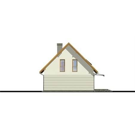 Proiecte Case - Proiect Casă Mică, cu Mansardă, 142 mp, 4 Camere, 2 Băi, ID 3815