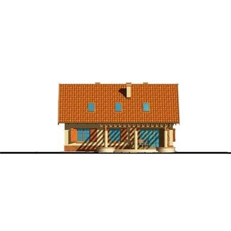 Proiecte Case - Proiect Casă de Vis, cu Mansardă, 194 mp, 6 Camere, 3 Băi, ID 3814
