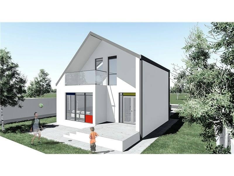 Proiecte Case - Proiect Casă Mică, cu Mansardă, 123 mp, 3 Camere, 2 Băi, ID 7191