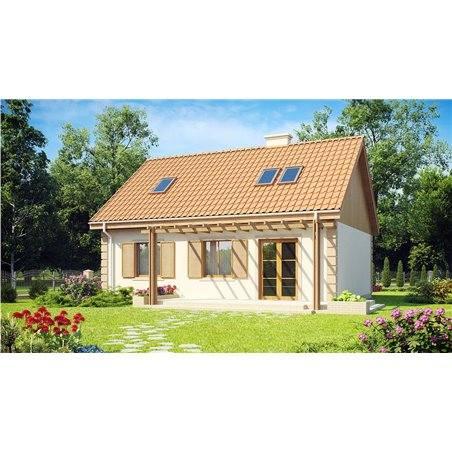 Proiecte Case - Proiect Casă de Vis, cu Mansardă, 157 mp, 5 Camere, 2 Băi, ID 6728