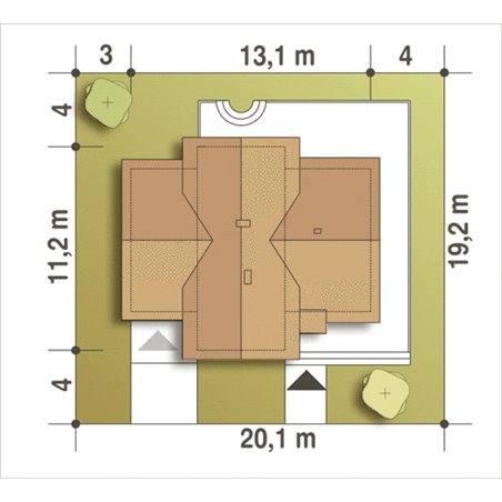 Proiecte Case - Proiect Casă de Vis, cu Mansardă, 163 mp, 4 Camere, 3 Băi, ID 3735