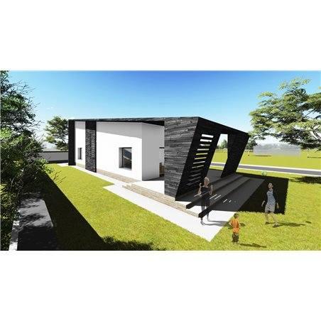 Proiecte Case - Proiect Casă de Vis, cu Mansardă, 178 mp, 4 Camere, 3 Băi, ID 7181