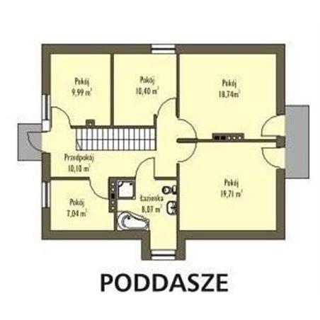 Proiecte Case - Proiect Casă de Lux, cu Mansardă, 204 mp, 7 Camere, 3 Băi, ID 3672