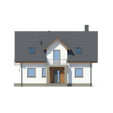 Proiecte Case - Proiect Casă de Vis, cu Mansardă, 194 mp, 6 Camere, 3 Băi, ID 3663