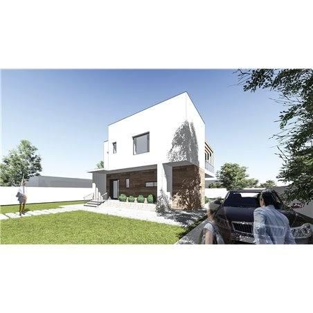 Proiecte Case - Proiect Casă de Vis, cu Etaj, 153 mp, 3 Camere, 3 Băi, ID 7175