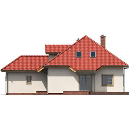 Proiecte Case - Proiect Casă de Lux, cu Mansardă, 201 mp, 6 Camere, 4 Băi, ID 3635