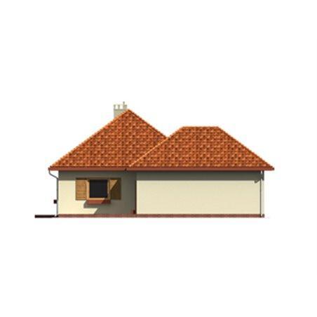 Proiecte Case - Proiect Casă Mică, Parter, 141 mp, 6 Camere, 2 Băi, ID 3628