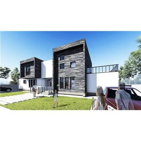 Proiecte Case - Proiect Casă de Vis, cu Etaj, 150 mp, 6 Camere, 4 Băi, ID 7170