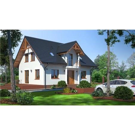 Proiecte Case - Proiect Casă de Vis, cu Mansardă, 198 mp, 6 Camere, 3 Băi, ID 3614