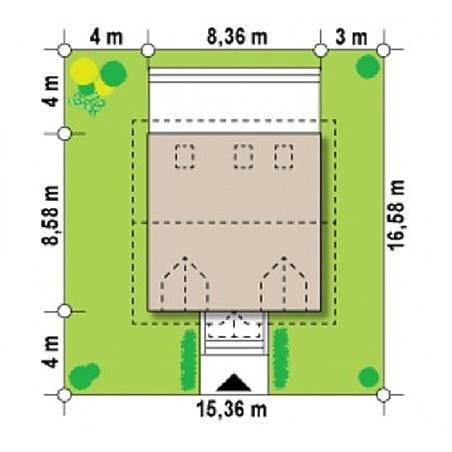 Proiecte Case - Proiect Casă Mică, cu Mansardă, 143 mp, 4 Camere, 2 Băi, ID 6696