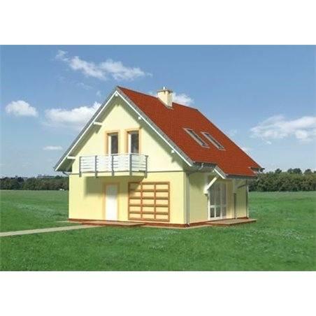 Proiecte Case - Proiect Casă de Vis, cu Mansardă, 156 mp, 5 Camere, 2 Băi, ID 6693