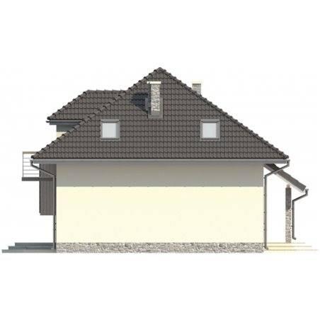 Proiecte Case - Proiect Casă de Lux, cu Mansardă, 200 mp, 4 Camere, 3 Băi, ID 3366