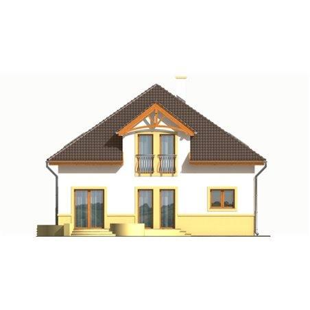 Proiecte Case - Proiect Casă Mică, cu Mansardă, 128 mp, 6 Camere, 2 Băi, ID 3242