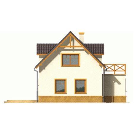 Proiecte Case - Proiect Casă de Vis, cu Mansardă, 187 mp, 6 Camere, 2 Băi, ID 3229
