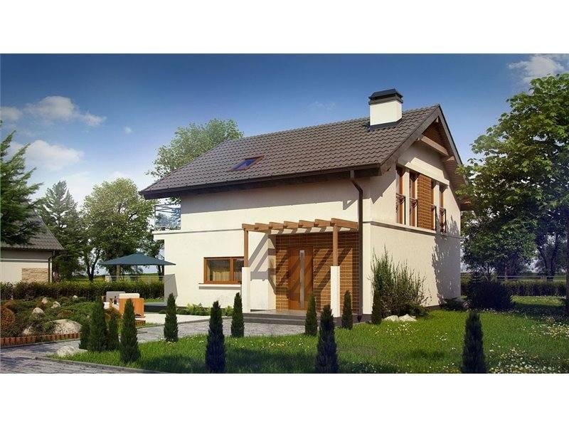 Proiecte Case - Proiect Casă de Lux, cu Mansardă, 200 mp, 5 Camere, 2 Băi, ID 3224