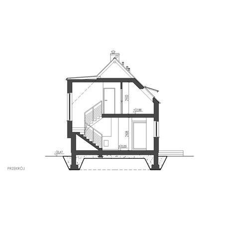 Proiecte Case - Proiect Casă Mică, cu Mansardă, 140 mp, 4 Camere, 3 Băi, ID 3191