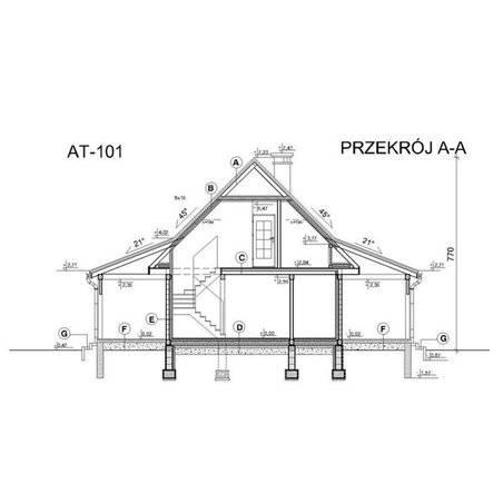 Proiecte Case - Proiect Casă Mică, cu Mansardă, 134 mp, 5 Camere, 2 Băi, ID 3031