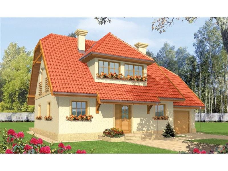 Proiecte Case - Proiect Casă de Lux, cu Mansardă, 204 mp, 6 Camere, 3 Băi, ID 7104