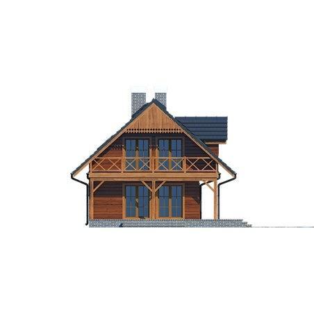 Proiecte Case - Proiect Casă de Lux, cu Mansardă, 200 mp, 5 Camere, 2 Băi, ID 2923