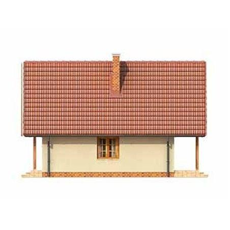 Proiecte Case - Proiect Casă Mică, cu Mansardă, 133 mp, 4 Camere, 1 Băi, ID 2872