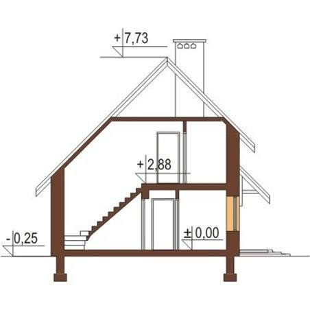 Proiecte Case - Proiect Casă Mică, cu Mansardă, 130 mp, 4 Camere, 2 Băi, ID 2841