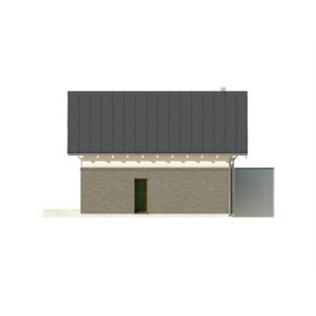 Proiecte Case - Proiect Casă Mică, cu Mansardă, 133 mp, 4 Camere, 2 Băi, ID 2818