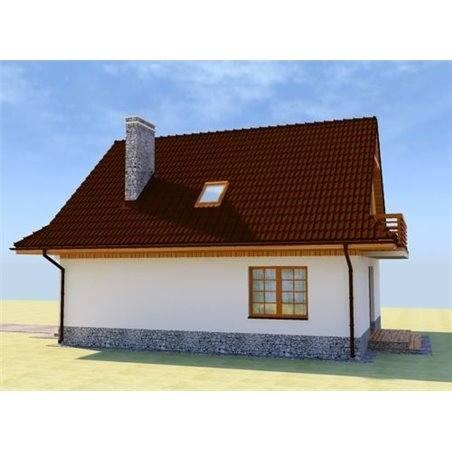 Proiecte Case - Proiect Casă de Vis, cu Mansardă, 154 mp, 5 Camere, 3 Băi, ID 6618