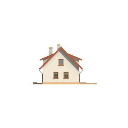 Proiecte Case - Proiect Casă Mică, cu Mansardă, 137 mp, 5 Camere, 2 Băi, ID 7085