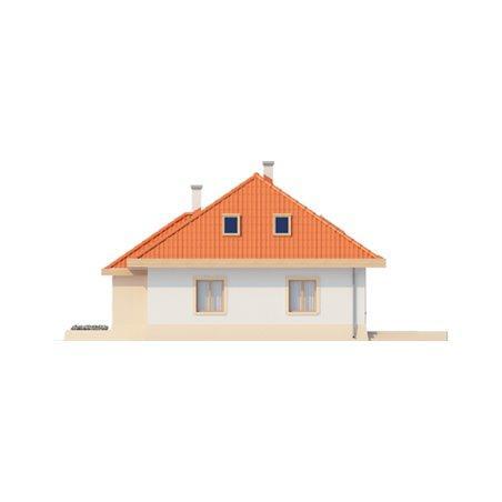 Proiecte Case - Proiect Casă Mică, cu Mansardă, 137 mp, 3 Camere, 1 Băi, ID 7084