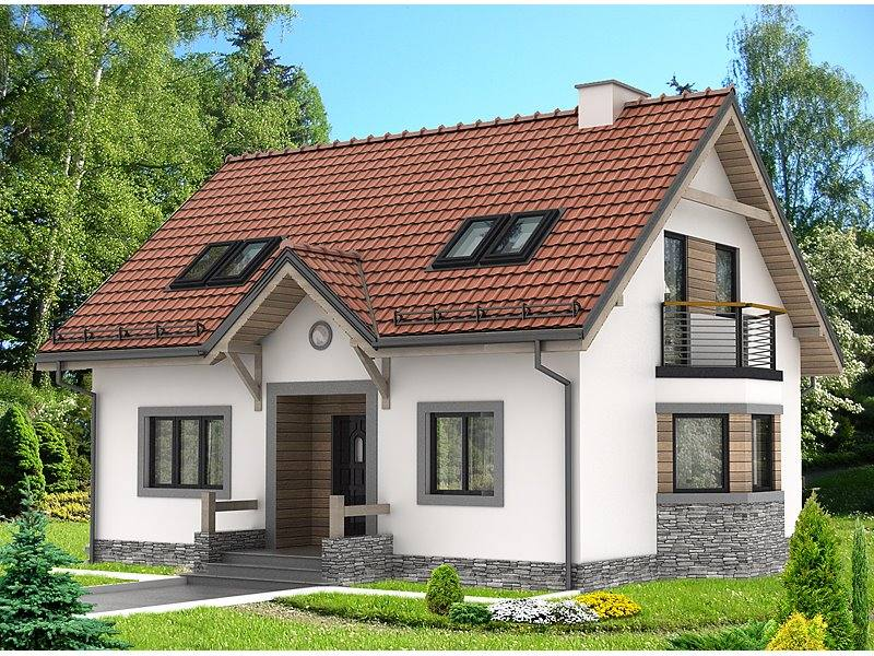 Proiecte Case - Proiect Casă de Vis, cu Mansardă, 172 mp, 4 Camere, 3 Băi, ID 2780