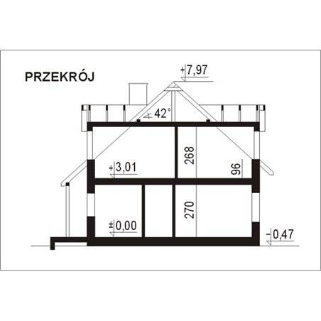 Proiecte Case - Proiect Casă de Vis, cu Mansardă, 174 mp, 6 Camere, 2 Băi, ID 2680