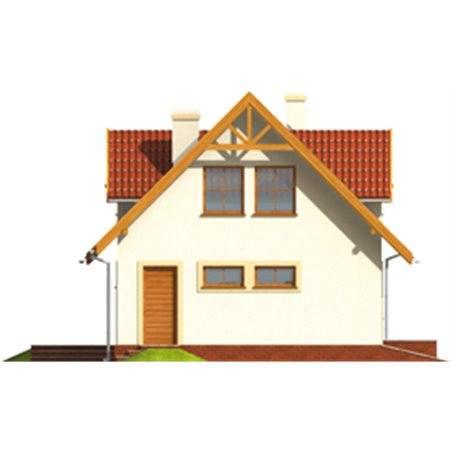 Proiecte Case - Proiect Casă de Vis, cu Mansardă, 158 mp, 5 Camere, 2 Băi, ID 7063