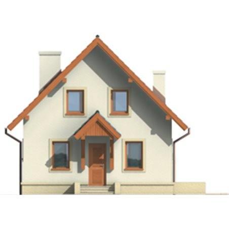 Proiecte Case - Proiect Casă Mică, cu Mansardă, 147 mp, 4 Camere, 2 Băi, ID 7059