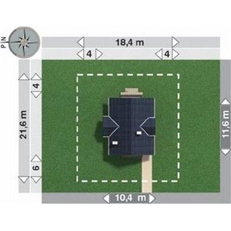 Proiecte Case - Proiect Casă de Lux, cu Mansardă, 201 mp, 4 Camere, 2 Băi, ID 2533