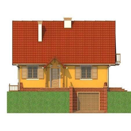 Proiecte Case - Proiect Casă Mică, cu Mansardă, 136 mp, 5 Camere, 2 Băi, ID 6583