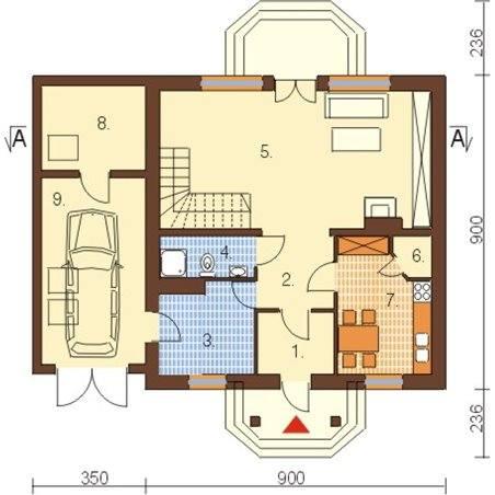 Proiecte Case - Proiect Casă de Lux, cu Mansardă, 200 mp, 3 Camere, 3 Băi, ID 2395