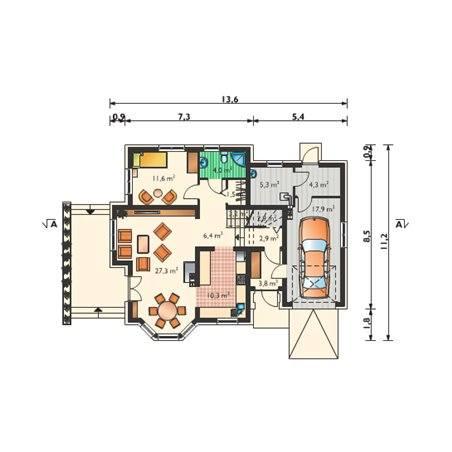 Proiecte Case - Proiect Casă de Vis, cu Mansardă, 162 mp, 6 Camere, 3 Băi, ID 2393