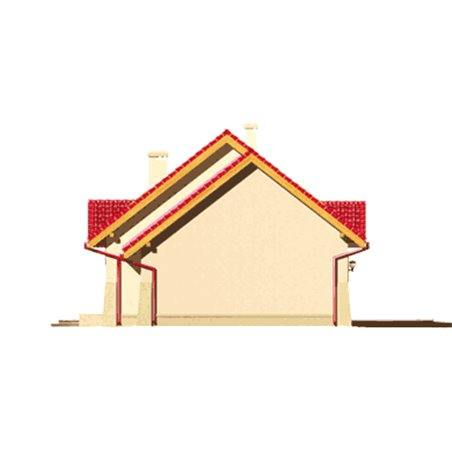 Proiecte Case - Proiect Casă Mică, cu Mansardă, 137 mp, 5 Camere, 2 Băi, ID 2361