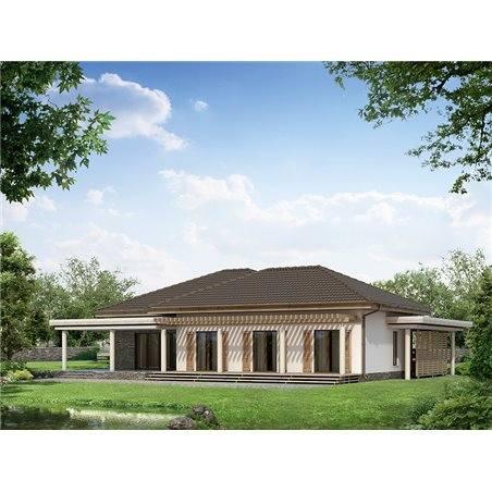 Proiecte Case - Proiect Casă de Vis, cu Mansardă, 173 mp, 4 Camere, 3 Băi, ID 2323