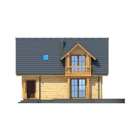 Proiecte Case - Proiect Casă Mică, cu Mansardă, 123 mp, 3 Camere, 2 Băi, ID 2233