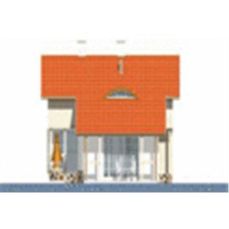 Proiecte Case - Proiect Casă Mică, cu Mansardă, 131 mp, 3 Camere, 2 Băi, ID 2137