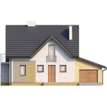 Proiecte Case - Proiect Casă de Vis, cu Mansardă, 170 mp, 4 Camere, 3 Băi, ID 2099