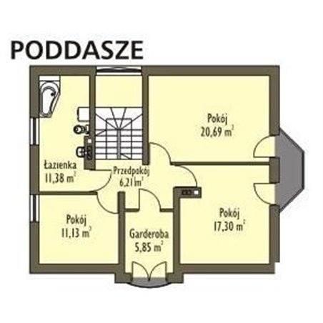 Proiecte Case - Proiect Casă de Lux, cu Mansardă, 200 mp, 5 Camere, 2 Băi, ID 2071