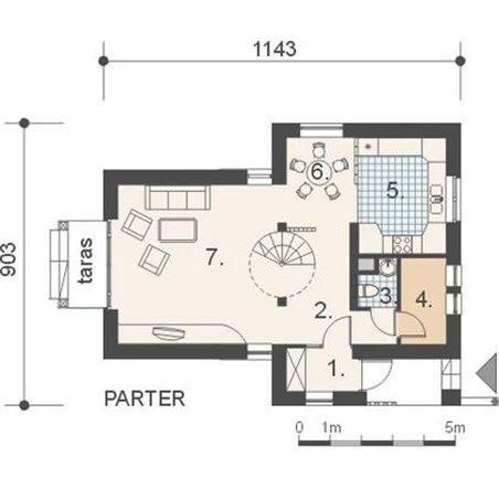 Proiecte Case - Proiect Casă Mică, cu Mansardă, 139 mp, 3 Camere, 2 Băi, ID 2040